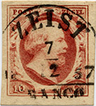 postzegel-roodbruin